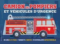 Chris Oxlade et Gareth Llewhellin - Camions de pompier et véhicules d'urgence - Livre + maquette à monter + 50 autocollants repositionnables.