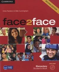 Chris Redston et Gillie Cunningham - Face2face - Elementary student's book. 1 DVD
