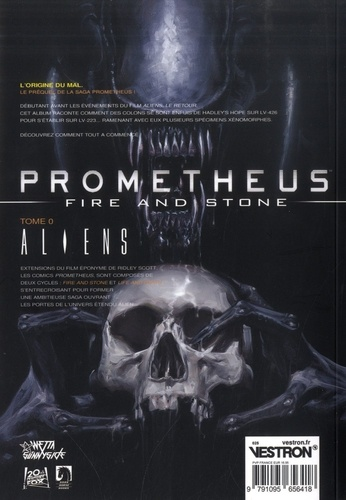 Prometheus : Fire and Stone Tome 0 Aliens