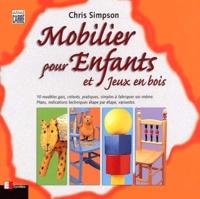 Chris Simpson - Mobilier pour enfants et jeux en bois.