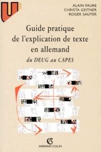 Christa Geitner et Alain Faure - .