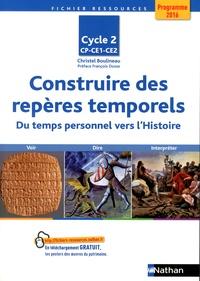 Christel Boulineau - Construire des repères temporels Cycle 2 CP-CE1-CE2 - Du temps personnel vers l'histoire.