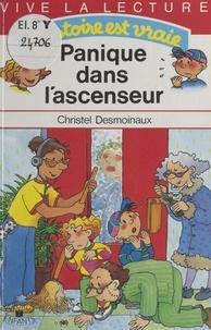 Christel Desmoinaux - Panique dans l'ascenseur.