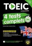 Christel Dieh et Charles-R Perry - TOEIC 4 tests complets.