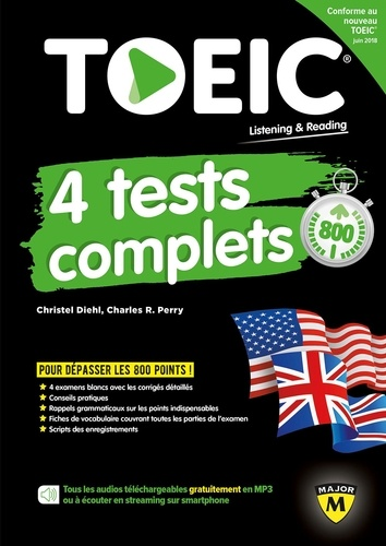 Christel Diehl et Charles R. Perry - TOEIC 4 tests complets.