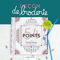 Christel Elbaz et Richard Boutin - Leçon de broderie - 54 points.