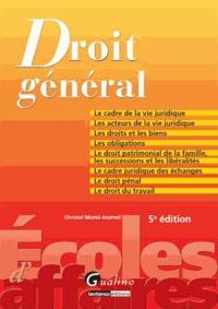 Christel Morel Journel - Droit général.