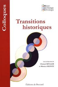 Christel Müller et Monica Heintz - Transitions historiques.