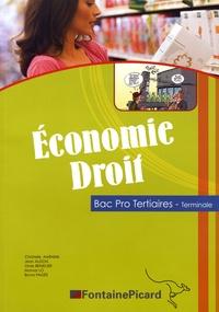Christelle Aarnink et Jean Aldon - Economie Droit Tle Bac Pro Tertiaires.