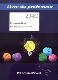 Deedr.fr Economie Droit Tle Bac Pro tertiaires - Livre du professeur Image