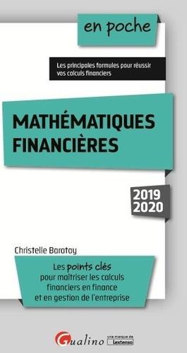 Mathématiques financières  Edition 2019-2020
