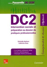 Christelle Barbaro et Catherine Rosa - DC2 Intervention sociale et préparation au dossier de pratiques professionnelles.