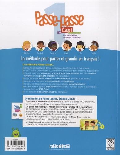 Passe-passe 1 Etape 1 A1.1. Livre de l'élève + Cahier d'activités  avec 1 CD audio