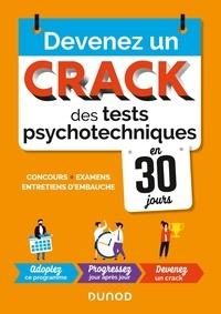 Christelle Boisse - Devenez un crack des tests psychotechniques en 30 jours.