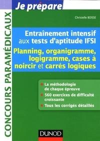 Entraînement intensif aux tests daptitude IFSI - Planning, logigramme, organigramme, cases à noircir et carrés logiques.pdf
