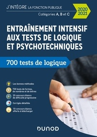 Christelle Boisse - Entraînement intensif aux tests de logique et psychotechniques - 2020-2021 - Catégories A, B et C.