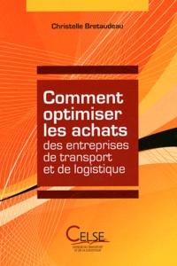 Christelle Bretaudeau - Comment optimiser les achats des entreprises de transport et de logistique.