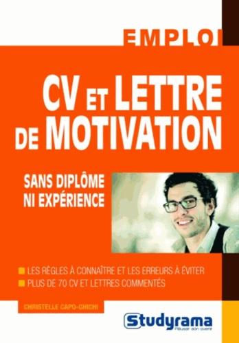 Christelle Capo-Chichi - CV et lettre de motivation sans diplôme ni expérience.