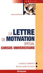 La lettre de motivation spécial cursus universitaire.pdf