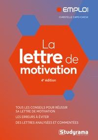 Christelle Capo-Chichi - La lettre de motivation.