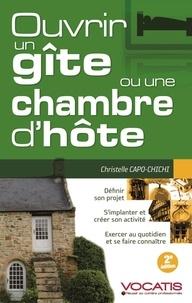 Christelle Capo-Chichi - Ouvrir un gîte ou une chambre d'hôte.