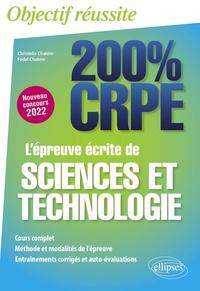 Christelle Chahim et Fadel Chahim - L'épreuve écrite de sciences et technologie.