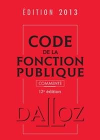 Christelle de Gaudemont - Code de la fonction publique commenté.