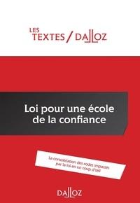 Christelle de Gaudemont - Loi pour une école de la confiance.
