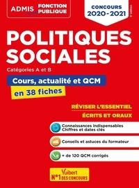Christelle Jamot-Robert - Politiques sociales catégories A et B - Cours, actualité et QCM en 38 fiches.