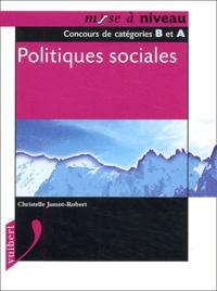 Christelle Jamot-Robert - Politiques sociales - Concours de catégories B et A.