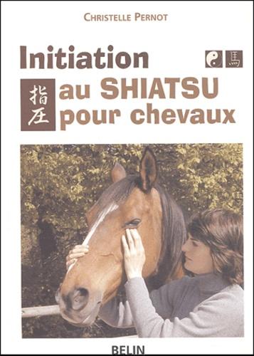Christelle Pernot - Initiation au Shiatsu pour chevaux - Le pouvoir du toucher.