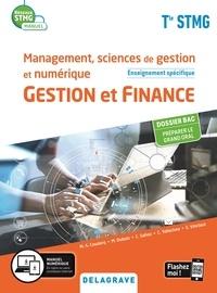 Christelle Saliou et Emilie Vinclaut - Management, sciences de gestion et numérique Gestion et finance enseignement spécifique Tle STMG - Manuel élève.