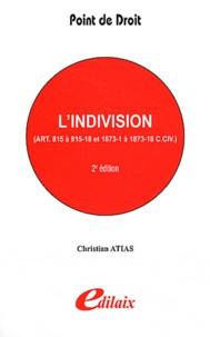 Lindivision : articles 815 à 815-18 et 1873-1 à 1873-18 C.CIV.pdf