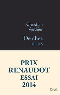 Christian Authier - De chez nous.