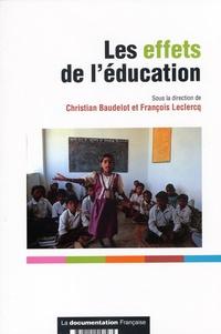 Christian Baudelot - Les effets de l'éducation.