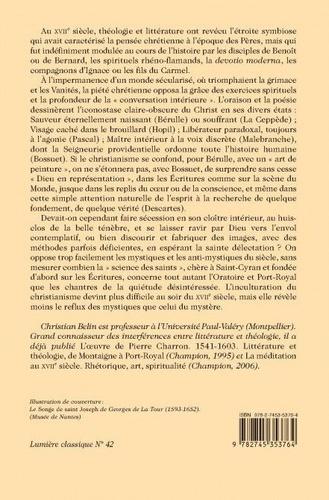La conversation intérieure. La méditation en France au XVIIe siècle