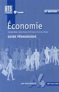 Christian Bialès et Fabrice Ferreira - Economie BTS tertiaires 2e année - Guide pédagogique.