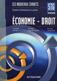 Christian Bialès et Michel Bialès - Economie- Droit Tle STG.