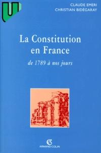Christian Bidégaray et Claude Emeri - .