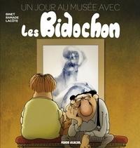 Christian Binet et  Lacote - Un jour au musée avec les Bidochon.