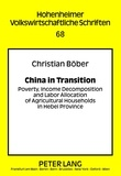 Christian Böber - China in Transition - Poverty, Income Decomposition and Labor Allocation of Agricultural Households in Hebei Province.