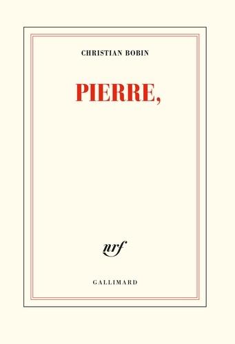 Christian Bobin - Pierre,.