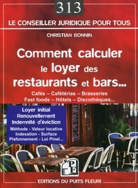 Comment calculer le loyer des restaurants et bars - Christian Bonnin pdf epub
