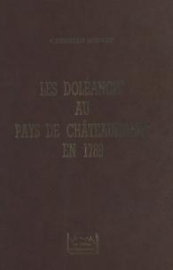 Christian Bouvet et René-Guy Cadou - Les doléances au pays de Châteaubriant en 1789.