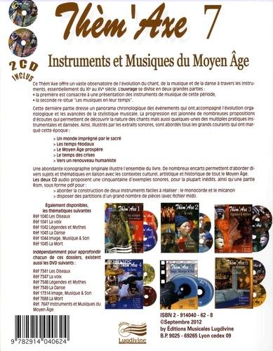 Instruments et musiques du Moyen Age  avec 1 DVD + 2 CD audio