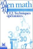 Christian Buonomo - 10/10 en math CE2 - Techniques opératoires.