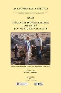 Mélanges dorientalisme offerts à Janine et à Jean Ch. Balty.pdf