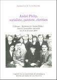"""Christian Chevandier et Gilles Morin - André Philip, socialiste, patriote, chrétien - Colloque """"Redécouvrir André Philip"""" tenu à l'Assemblée nationale les 13 et 14 mars 2003."""