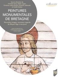 Christian Davy et Didier Jugan - Peintures monumentales de Bretagne - Nouvelles images, nouveaux regards du Moyen Age à nos jours.