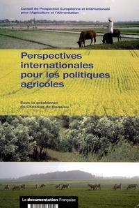 Christian de Boissieu - Perspectives internationales pour les politiques agricoles.